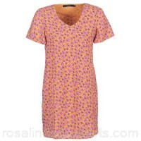 Vero Moda VMKARINA Orange / Pink - Short Dresses Women 7192614