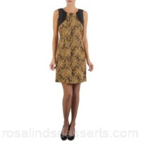 Manoukian BOATNECK Beige - Short Dresses Women 238263