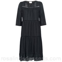See U Soon SOTARA Black - Long Dresses Women 7883463