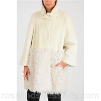 DROMe Long Sleeves Real Fur Jacket - Womens Jackets P111891