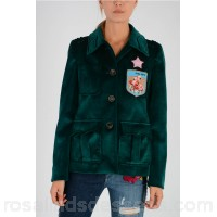 MIU MIU Velvet Jacket - Womens Jackets P109539