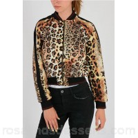 Just Cavalli Leo Printed and Laced Reversible Jacket - Womens Jackets P107900