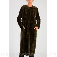 DROMe Real Fur Jacket - Womens Jackets P108937