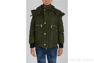 Dsquared2 Hooded Jacket - Womens Jackets P97387