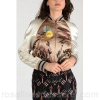 Valentino Embroidered Bomber - Womens Jackets P93570