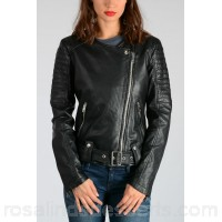 Diesel Leather L-MADE Biker Jacket - Womens Jackets P86890