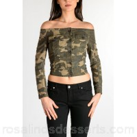 Faith Connexion Camouflage SAILOR Jacket - Womens Jackets P85654
