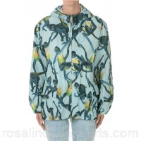 Valentino Printed Nylon Jacket - Womens Jackets P67592