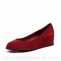 GAMINS Women pommel red suede Concealed wedge GM10256-RED-SU VEFMFJQ