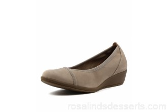 SUPERSOFT Women flexwedge light taupe leather Elasticated edging Supersoft flex comfort technology SU10002-NCZ-LE ACJHOAZ