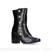 Women Carvela - Black 'Soldier' ankle boots Heel height 8.5cm/3.34 inches Lining synthetic ATBYFHK