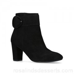 Women Carvela - Black 'Sunday' ankle boots Heel height 8cm/3.14 inches Lining synthetic CYOXSMU