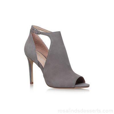 Women Carvela - Grey 'Glacier' high heel sandals Upper Leather Lining Synthetic NQEHOKP
