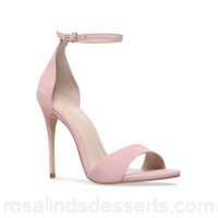 Women Carvela - Nude 'glimmer' high heel sandals Heel height 2.1-5.5cm/0.82-2.36 inches Material nubuck ICOSPJJ