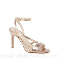 Women Faith - Rose 'Delly' high heel wide fit ankle strap sandals Heel height 9cm/3.5 inches Upper man made materials CWSQWPZ
