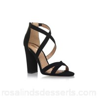 Women Miss KG - Black 'Faun' high heel sandals Upper Synthetic Lining Synthetic EPJFCOQ