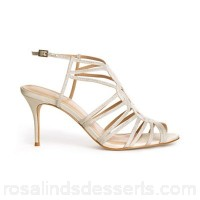 Women Phase Eight - Cream suki cage detail heeled sandals Collection bridalwear Material 100% nylon GVHCDSN