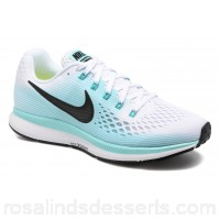 Nike Wmns Nike Air Zoom Pegasus 34 Womens Sport Shoes Fall/Winter 2017 White/Black-Aurora Green 0 LOZOFZM
