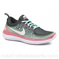 Nike Wmns Nike Free Rn Distance 2 Womens Sport Shoes Spring/Summer Hyper Turq/White-Green Glow-Lava Glow 147457 LHLILUQ