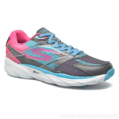 Skechers Go Run Ride 4 13998 Womens Sport Shoes Spring/Summer Charcoal Blue 117163 MRNCALV