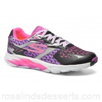 Skechers Go Run Ride 5 13997 Womens Sport Shoes Spring/Summer Black Purple 135541 TFGZNQE