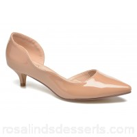 I Love Shoes THETA Womens High Heels Spring/Summer Nude patent 3 cm 148315 AUDLYWT