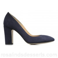 Made by SARENZA Carioca Crew Escarpins #4 Womens High Heels Spring/Summer Cuir velours marine 9 cm 165047 SZGSXOK
