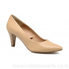 S.Oliver Jacob Womens High Heels Spring/Summer Sand 8 cm 163344 SFVYPYT