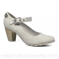 S.Oliver Leby Womens High Heels Spring/Summer Lt grey 7 cm 127957 OAXIAPM