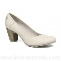 S.Oliver Nyelle Womens High Heels Spring/Summer Off white 6.5 cm 127954 TYKMUGR