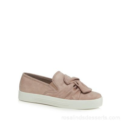 Women Call It Spring - Light pink suedette 'Camber' slip-on trainers Upper Textile Lining Textile CQROMGJ
