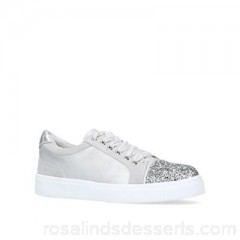Women Miss KG - Grey 'Louie' low top trainers Lining synthetic Sole synthetic RPDSPMK
