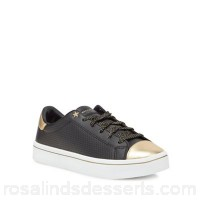 Women Skechers - Black leather 'Hi-Lite' trainers Upper Leather Lining Textile / man made materials FLVSYIS