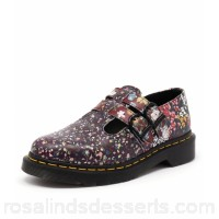 DR MARTEN Women pascal floral 8065 mary jane multi leather Dr. Martens trademark air-cushion sole oil and fat resistant offers good slip resistance DM10042-NDI-LE SSOBJEZ