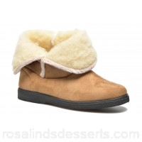 Rondinaud Dieppe Womens Slippers Fall/Winter Camel 126196 UGIPMSR