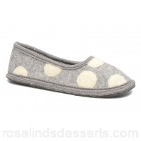 Ruby Brown Dotty Womens Slippers Fall/Winter 2017 lt. grey 0 PDORSMX