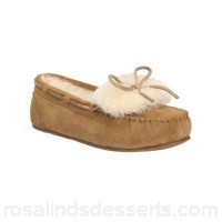 Women Clarks - Tan 'Warm Galmour' slippers BGIAPYB