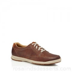 Men Clarks - Tan suede 'Stafford' trainers Upper suede Lining textile VAWGWOS