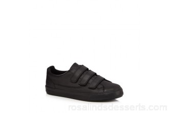 Men Kickers - Black leather 'Tovni' trainers Upper Leather Lining Textile EIRGSBX