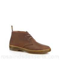 Men Dr Martens - Brown 'Cabrillo' Desert boots Upper Leather Lining Textile XGHKKGQ
