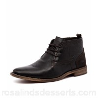 WILD RHINO Men chism black leather Hand-crafted Well-worn finish WR10000-BLA-LE TGJMMYX