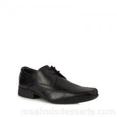 Men Clarks - Black leather 'Aze Day' derby shoes Upper Leather Lining Leather textile OUFUMSF