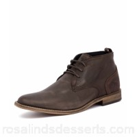 WILD RHINO Men chism dark brown leather Hand-crafted Well-worn finish WR10000-E25-LE ZDNOVNL