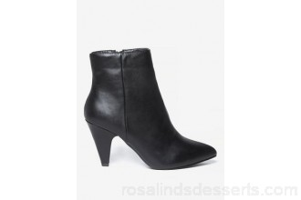 Women Dorothy Perkins - Wide fit black 'ada' ankle boots 100% polyurethane Spot clean only XOMXVMC