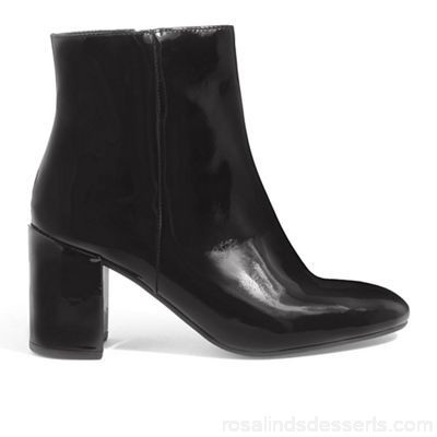 Women Phase Eight - Black Phoebe patent leather ankle boots Collection Tunbridge Wells Material 100% leather BXJYSBI