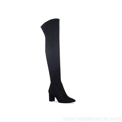 Women Nine West - Black 'Xperion' high heel over the knee boots Material synthetic Lining synthetic NFDBYKS