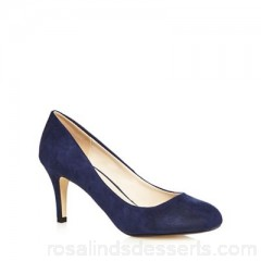 Women The Collection - Navy high stiletto heel court shoes Upper textile Lining man made materials BAHKYMT