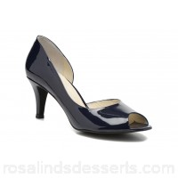 Georgia Rose Alige Womens High Heels Spring/Summer Verniz navy 8 cm 37860 FRDPRYV