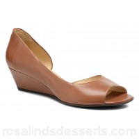 Georgia Rose Phoeti Womens High Heels Spring/Summer Permea Marron 4 cm 37868 JTKRVZZ