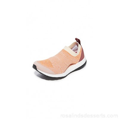 adidas by Stella McCartney Women Pureboost X Sneakers Pearl Rose/Lucky Orange/Chalk ASTEL30950 ROPGDLF